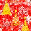 富丽堂皇的圣诞节花纹装饰PS笔刷下载