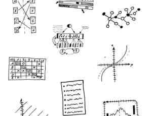 童趣数学元素、科学涂鸦Photoshop笔刷下载