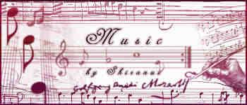 音符、乐谱Photoshop音乐元素笔刷