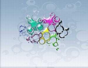 泡沫、泡泡、气泡叠影PS笔刷素材下载