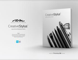 500+创意概念画师素描手绘画笔工具Photoshop笔刷下载