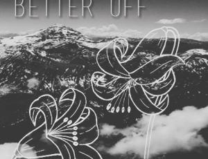手绘线框式百合花Photoshop笔刷花纹图案
