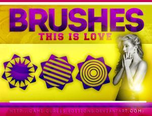 潮流非主流式花纹图案Photoshop装饰笔刷