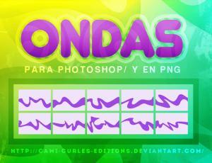 飘逸的彩带、丝带图形Photoshop自定义形状素材 .csh 下载