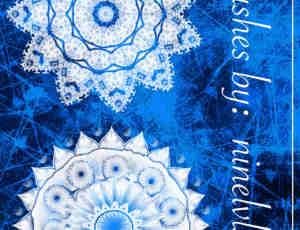 高贵冷艳的曼荼罗花纹图案PS纹饰笔刷