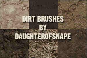 26种正式的泥土、土质表面纹理PS土地表面笔刷