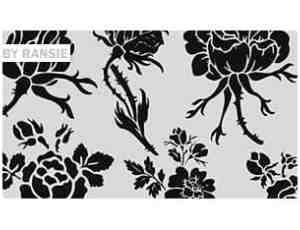 漂亮的玫瑰花花纹花卉图案、玫瑰花花朵PS笔刷素材