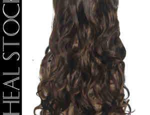 女性长发头套效果Photoshop后背式假发笔刷(PSD素材格式)已扣图!