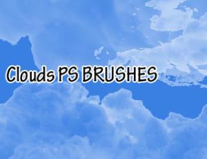 天空中的白天效果PS天空笔刷