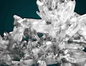 结晶体、冰晶、水晶效果PS笔刷素材
