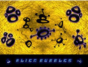 神秘的外星人符号图案PS笔刷素材下载