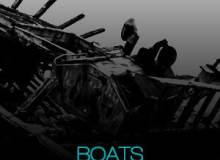 14种高清沉船效果图、搁浅的军舰渔船Photoshop笔刷素材