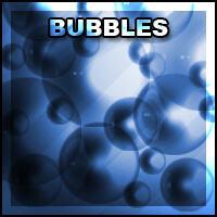 泡泡、气泡、半透明小球PS笔刷素材