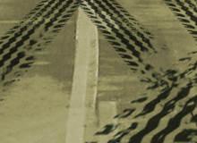 16种高清真实的轮胎痕迹、车轮印记、刹车痕迹Photoshop轮胎纹理笔刷素材
