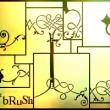 小而美的植物向艺术花纹图案PS笔刷下载