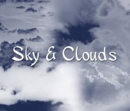 天空云朵效果PS笔刷下载