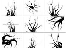 魔鬼树效果PS笔刷素材下载