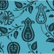 小清新式手绘植物印花图案PS笔刷素材下载