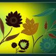 漂亮的鲜花花朵图案Photoshop笔刷素材下载