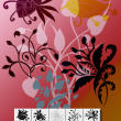 10种漂亮的手绘植物花纹图案Photoshop笔刷素材下载