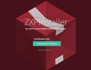 PS插件ZXP格式如何安装? PS扩展安装神器 –  ZXPInstaller   精简版Photoshop也能装ZXP插件