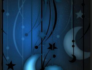 星星月亮元素Photoshop梦幻装饰饰品笔刷