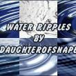 各种水波纹效果、荡漾的水面纹理PS笔刷素材下载