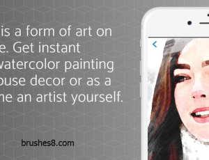 Paintkeep:将你的照片转换成水彩画、铅笔素描、油画等抽象风格!并可以加上你的个性艺术签名(仅支持iPhone, iPad)