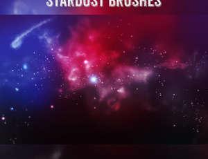 7种星空、星辰、宇宙深空背景、银河系星系图Photoshop笔刷素材