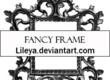 手绘艺术花式框架图案PS笔刷素材下载