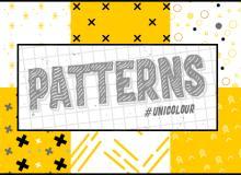 小清新十字交叉、小圆点、小星星符号、箭头标记等填充图案底纹PS素材(PNG格式,可无缝拼接!)