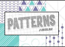 7种小清新三角、圆圈、横线等背景图案填充PS素材(PNG格式,无缝拼接!)