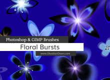 漂亮的花卉图案Photoshop鲜花花朵笔刷