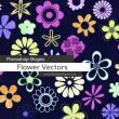 漂亮的花卉图案Photoshop自定义形状素材 .csh 下载