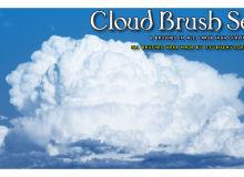 壮观的积雨云效果素材PS笔刷下载