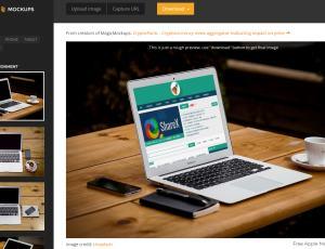一键将你的设计作品展示到 iPhone、iPad、iMac、MacBook 屏幕中去 – Magic Mockups