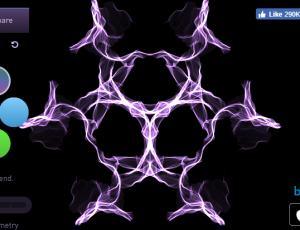 镜像式炫光艺术绘画创作生成器 – Silk
