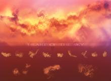 幻想天空纹理、火烧云效果Photoshop笔刷下载