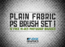 网状编织物纹理效果Photoshop材质笔刷
