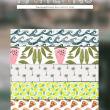 水波、西瓜、椰树、青柠、披萨汉堡等图案填充Photoshop底纹素材.pat