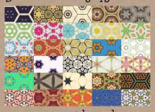 30种可无缝拼接的经典印花图案PS背景素材下载(JPG图片格式)