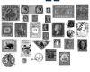 外国古董邮票、旧邮票素材PS笔刷下载