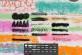 免费水彩画笔各种涂抹痕迹PS笔刷下载