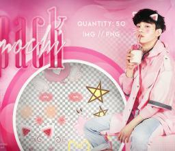 装萌、扮可爱的颜表情图案之韩国笔刷风格下载(PNG免扣图透明格式)