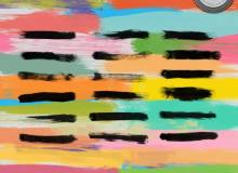 油漆涂痕刷子笔迹Photoshop笔刷下载