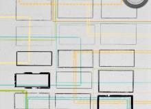 油漆风格式残破边框、相框纹理背景素材PS笔刷下载