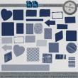 各种背景几何图形图案素材PS笔刷下载