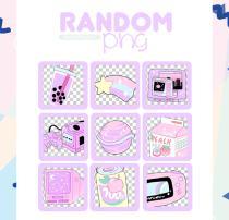 童趣可爱少女贴纸装扮之韩国笔刷风格下载(PNG免扣图透明格式)