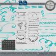 蜡笔、粉笔纹理风格手绘线条图案Photoshop笔刷下载