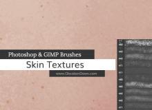 仿真皮肤纹理、皮肤材质PS笔刷素材